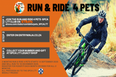 Run and Ride for Pets – SPCA LTT