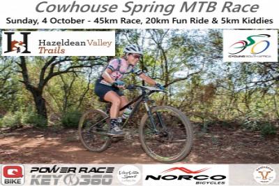 Hazeldean Cowhouse Spring MTB Race
