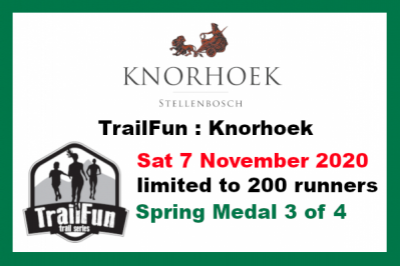 TrailFun Spring Series 3 of 4 : Knorhoek