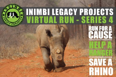 Run for a cause, Help a Ranger, Save a Rhino #Series 4 Virtual Run