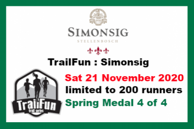TrailFun Spring Series 4 of 4 : Simonsig