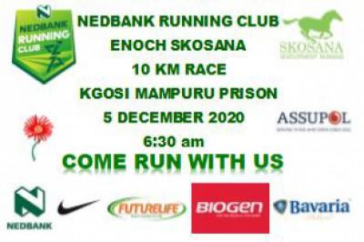 Nedbank Running Club Enoch Skosana 10Km Race