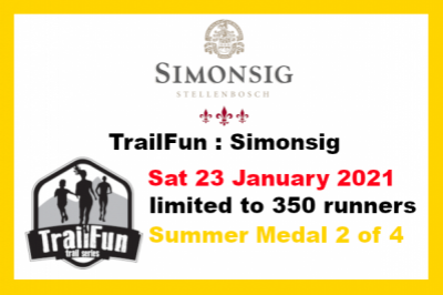 TrailFun Summer Series 2 of 4 : Simonsig