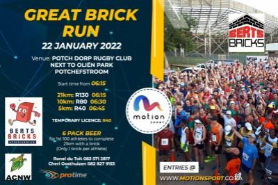 Berts Bricks Great Brick  Run 2022