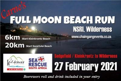 Carne's Full Moon Beach Run 2020/21