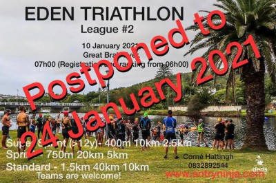 Eden Triathlon League Event #2