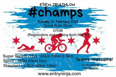 Eden Triathlon 2021 Championships