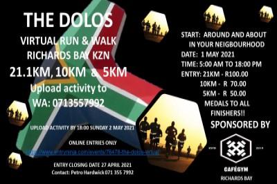 The Dolos Virtual Run/Walk