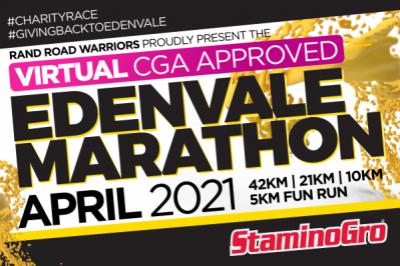 Edenvale Virtual Marathon 2021