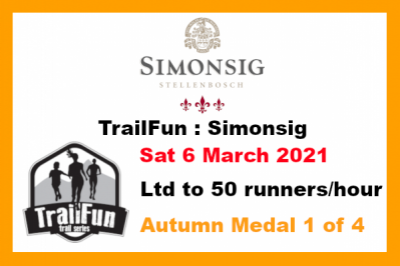 TrailFun Autumn Series 1 of 4 : Simonsig