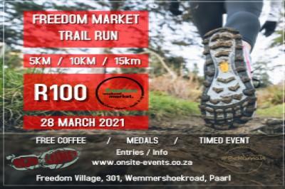 The Freedom Weekend Market Run