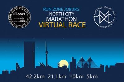 Joburg North City Marathon Virtual Race 2021
