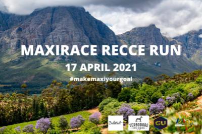Maxirace Recce Run April 2021