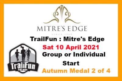 TrailFun Autumn Series 2 of 4 : Mitre's Edge