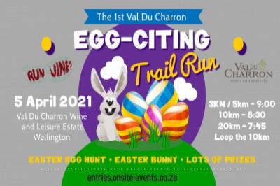 Egg-Citing Trail Run