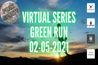 Peak Sports Colour Run Series - GREEN RUN