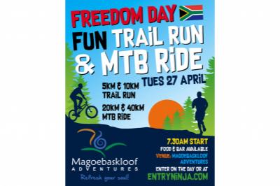 Freedom Day Fun Trail Run & MTB Ride