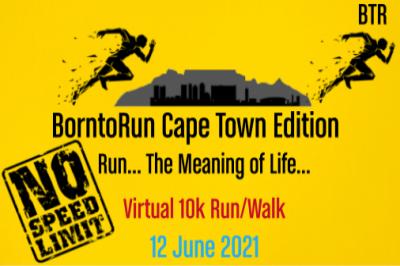 BornToRun Virtual 10k Run/Walk #2