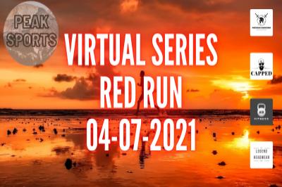 Peak Sports Colour Run Series - RED RUN