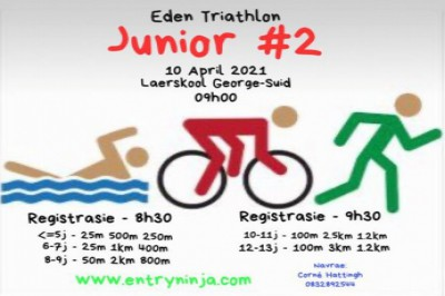 Eden Triathlon 2021 - Junior Duathlon #2