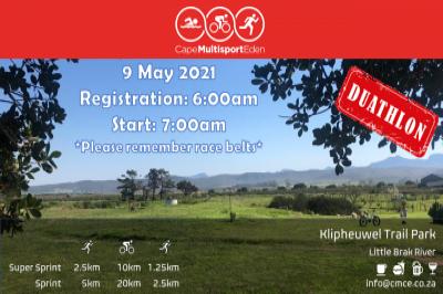Cape Multisport Eden Duathlon 2021