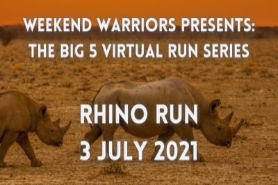 BIG 5 VIRTUAL RUN SERIES - RHINO RUN