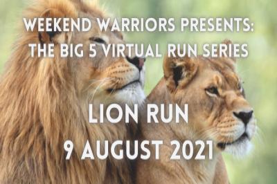 BIG 5 VIRTUAL RUN SERIES - LION / LIONESS RUN