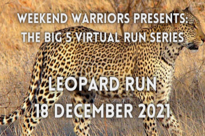 BIG 5 VIRTUAL RUN SERIES - LEOPARD RUN