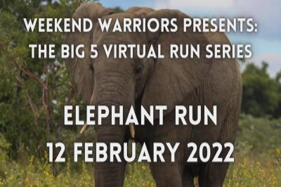 BIG 5 VIRTUAL RUN SERIES - ELEPHANT RUN