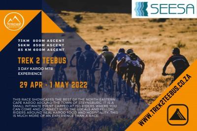 Trek2Teebus 2022 - 3day Karoo MTB Experience - Presented by SEESA