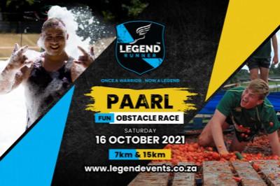 Legend Runner 2021 - PAARL 7km and 15km