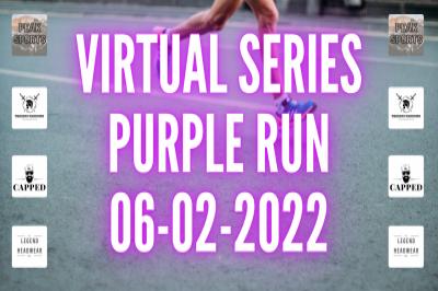 Peak Sports Colour Run Series - PURPLE RUN