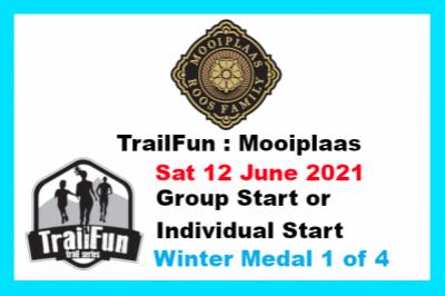 TrailFun Winter Series 1 of 4 : Mooiplaas