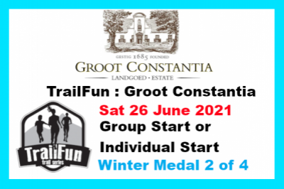 TrailFun Winter Series 2 of 4 : Groot Constantia