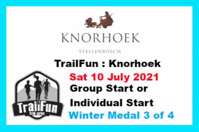 TrailFun Winter Series 3 of 4 : Knorhoek
