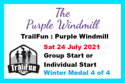 TrailFun Winter Series 4 of 4 : Purple Windmill