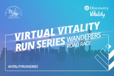 Wanderers Virtual Road Race with Discovery Vitality
