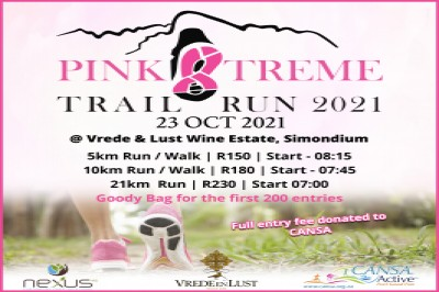 The Pink Xtreme Trail Run 2021