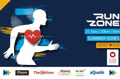 Run Zone Summer Series Heart Run 2021