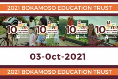 Bokamoso 10THOUSAND - Virtual Fundraiser