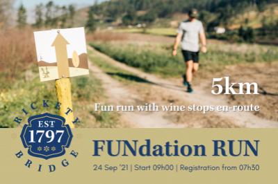 5km FUNdation RUN at Rickety Bridge Winery on Heritage Day