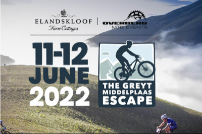 THE GREYT MIDDELPLAAS ESCAPE 2 Day MTB Stage race