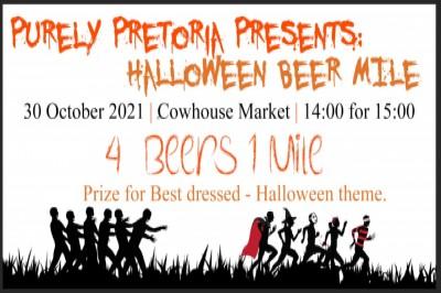 Purely Pretoria Halloween Beer Mile