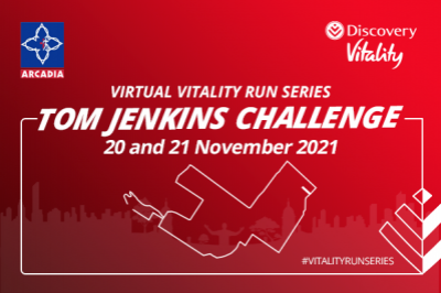 Tom Jenkins Challenge with Discovery Vitality