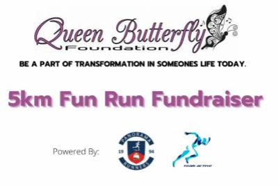 Queen Butterfly Foundation 5km Fundraising Family Fun Run / Walk
