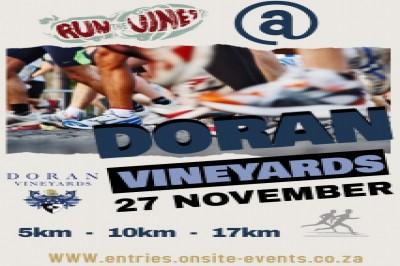 Doran Vineyards Trail Run