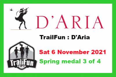TrailFun Spring Series 3 of 4 : D'Aria