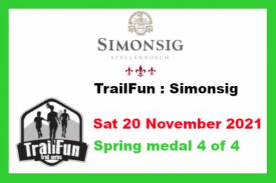 TrailFun Spring Series 4 of 4 : Simonsig