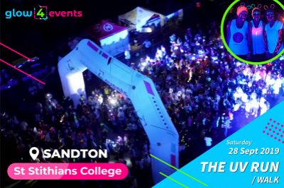 "Glow4Saints ""THE UV RUN"""