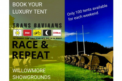 Tent Accom - The Race